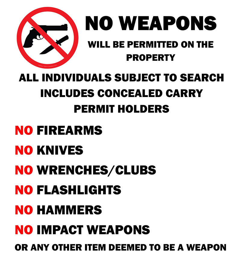 weapons-sign